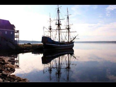 "Das Segelschiff ""Hector"" in Pictou, Nova Scotia"