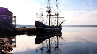 "The Sailing Ship ""Hector"" in Pictou, Nova Scotia"