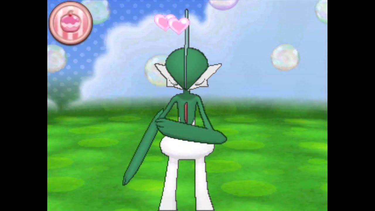Pokemon Amie: Gallade - YouTube