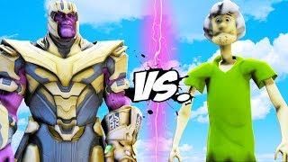THANOS VS SHAGGY (Scooby Doo) - EPIC BATTLE