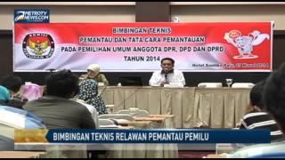 KPU Sulteng Gelar Bimbingan Teknis Pemantau Pemilu