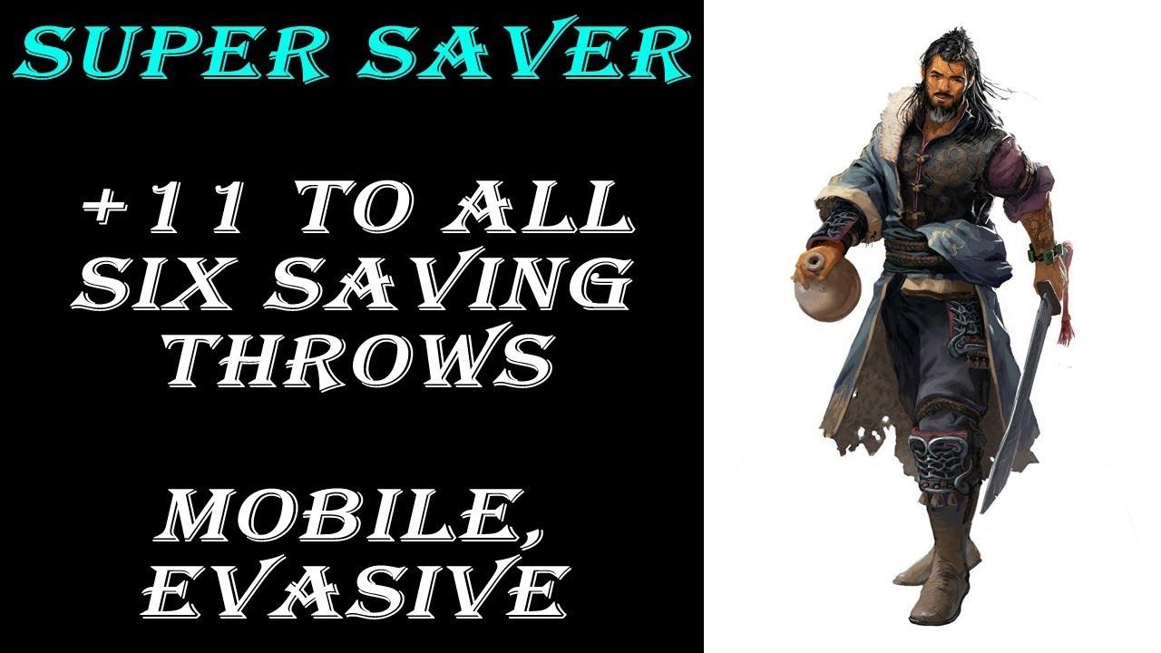 Super Saver - Paladin of Ancients & Drunken Master Monk Build | Dungeons &  Dragons 5e