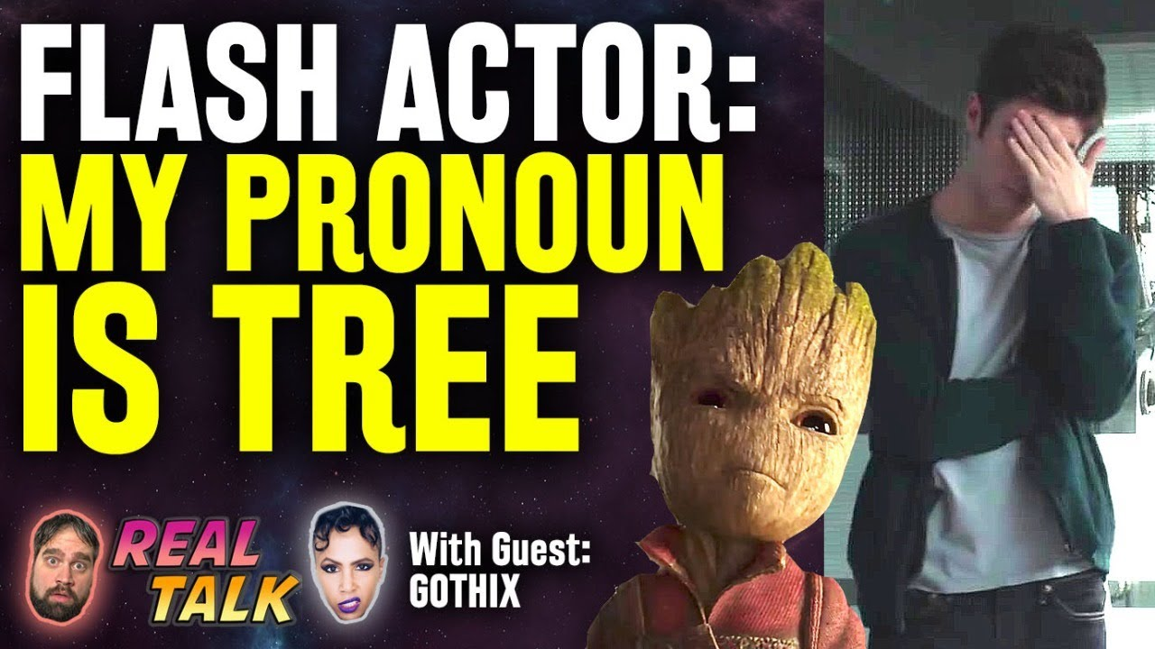 The Flash Actor's Preferred Pronoun: Tree/Treeself & More REAL TALK with Gothix LIVE!