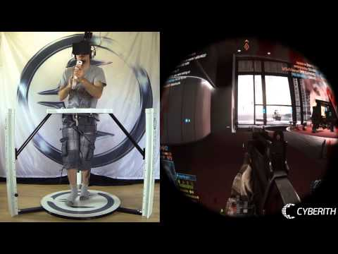 Cyberith Virtualizer + Oculus Rift + Virtual Reality Games Compilation