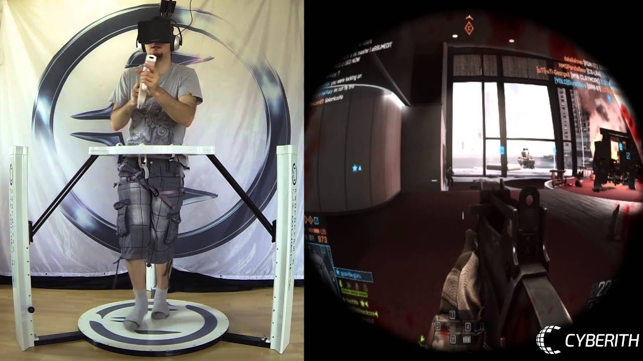 Cyberith Virtualizer  Oculus Rift  Virtual Reality Games -8481