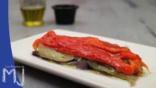 CÓMO HACER ESCALIVADA | Plato típico catalán de verduras asadas