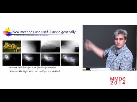 Locally-biased and semi-supervised eigenvectors; Michael Mahoney
