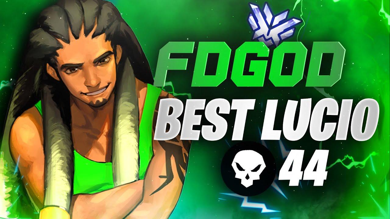 FDGod Lucio God - 44 elims! Overwatch Season 27 Top 500
