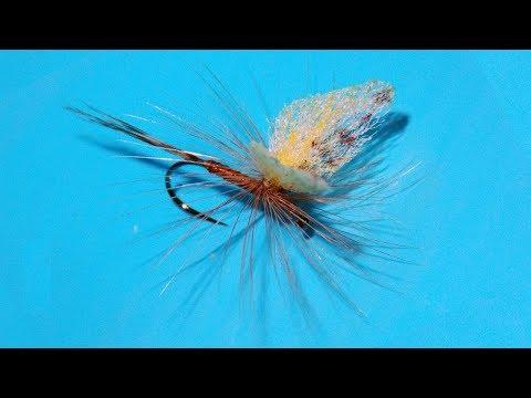 May Fly Dun Parachute fly tying instructions