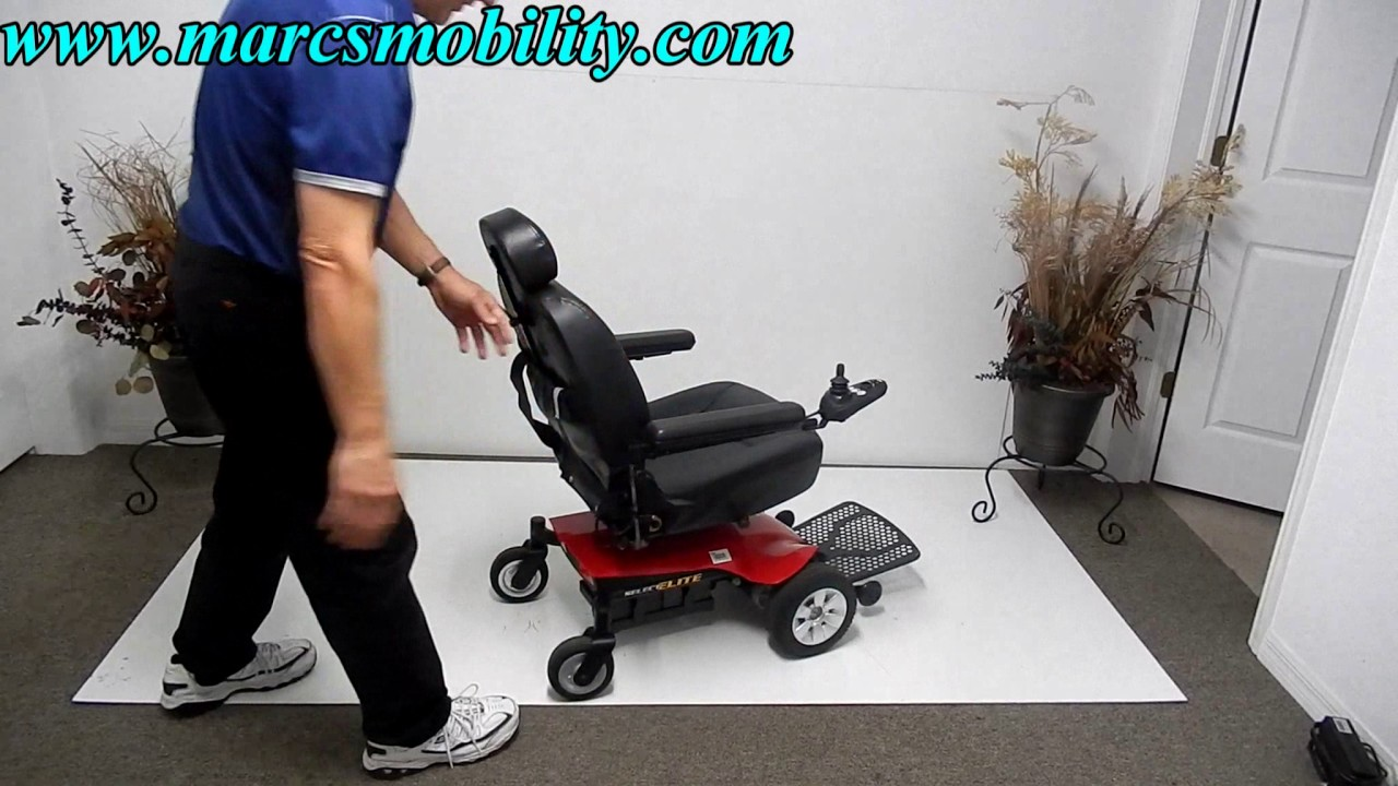 jazzy power chair used eames dining pride mobility select elite youtube