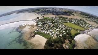 Droneart.tv - Camping Ar Kleguer **** - Saint-Pol-de-Léon - Haut-Finistère