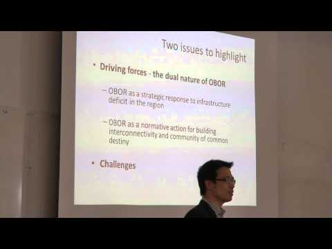 China's One Belt, One Road, Dr. Liu Chunrong, Copenhagen seminar Ap. 27, 2015