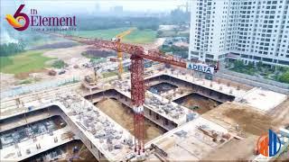 Video cận cảnh công trường Chung cư C51 Bắc Hà
