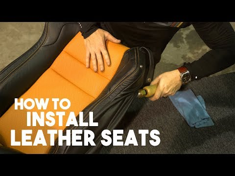 How To Install Leather Seats And Improve Fitment - Subaru BRZ - LeatherSeats.com Tech Tips Video