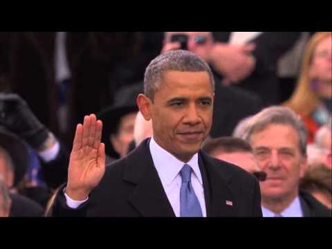 Raw: Obama Takes Ceremonial Oath of Office