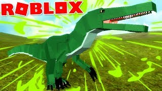 "Dinosaur Simulator (Roblox)-The mighty Carnivore, hunting prey! ""Gojirasaurus""-(#72) (EN-BR)"