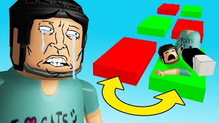 I played a Roblox UNFAIR Obby (it wasn
