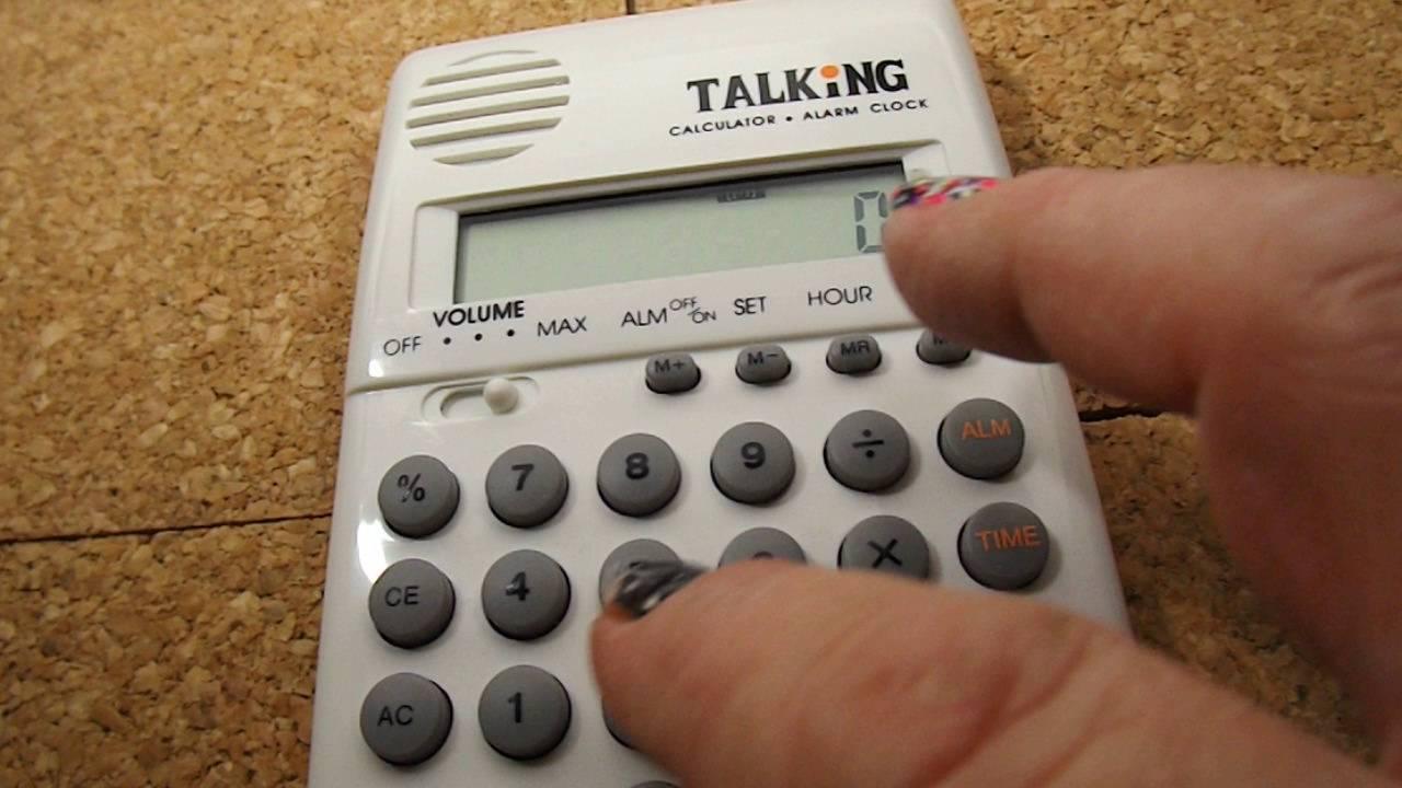 Demo sharp elsi mate el-620 talking calculator youtube.