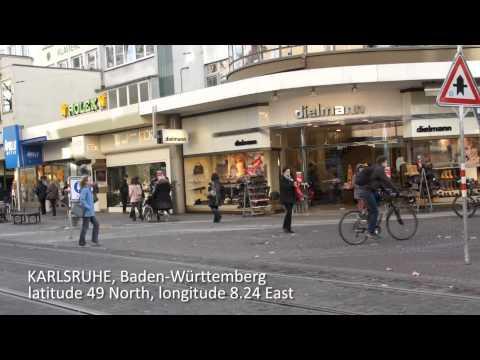 Travel log Karlsruhe Deutschland