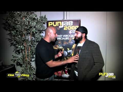 Punjab2000.com interview with Monty Panesar at the BritAsia 2012 Music Awards