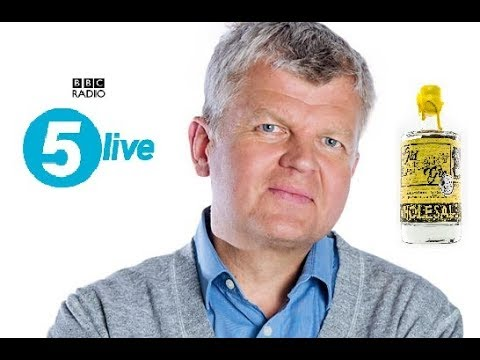 Old Bakery Gin on BBC Radio 5 Live Daily WITH Adrian Chiles