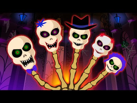 Colored and Funny Faces Dancing On Finger Family by Teehee Town