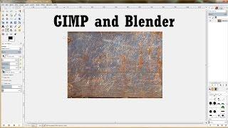 Blender Tutorial: Using GIMP with Blender