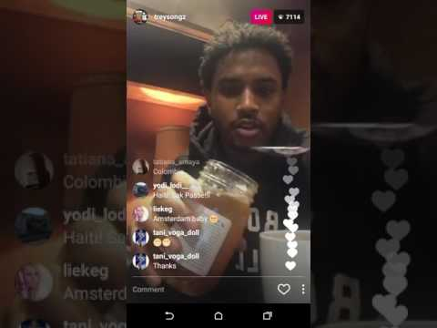 TREY SONGZ OUT OF JAIL, LIVE