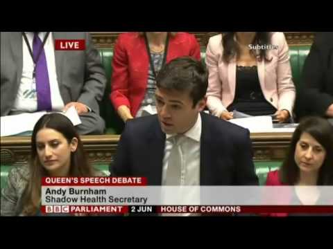 House of Commons - Tuesday 2nd June 2015 - Andy Burnham MP