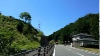 愛知県道21号を走ってみた【4倍速版】