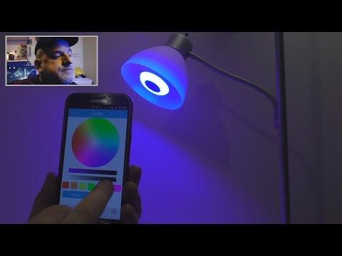Bluetooth Smart LED Speaker Light Bulb Review