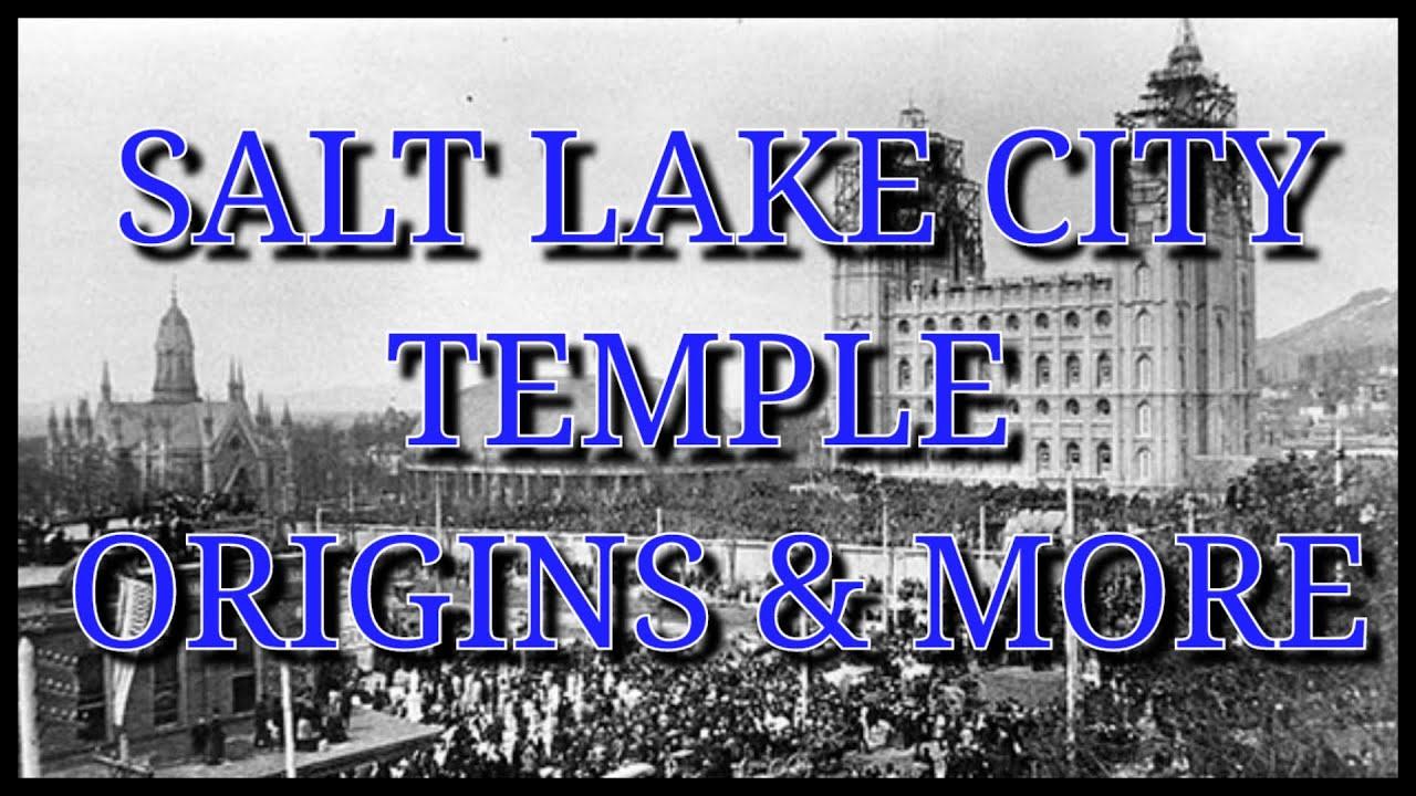 Salt Lake City Temple Origins & more Live Stream (Exploring Tartaria)