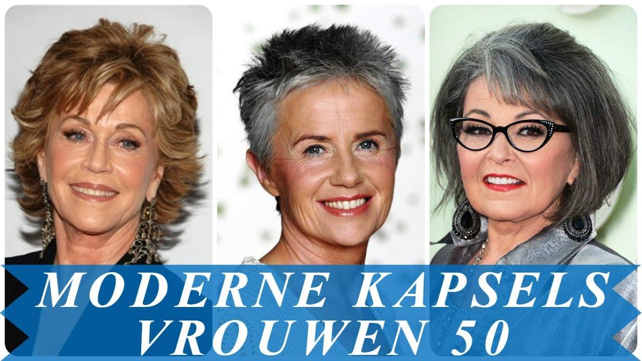 Populair Moderne kapsels vrouwen 50 - YouTube &YN19