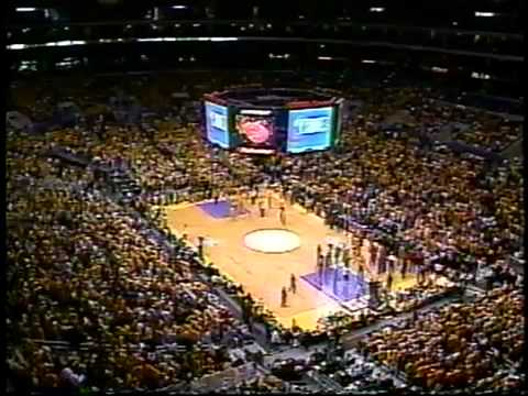NBA on NBC 2000 Lakers VS Blazers Intro