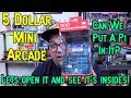$5 Mini Arcade Machine - Tear Down & What Can We Do With It? RetroPie?