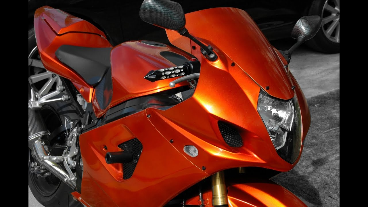 How To Paint Your Motorcycle In Your Garage Candy Tangerine And How To Build A Paint Booth