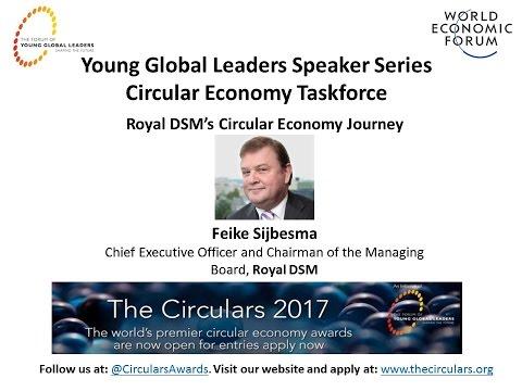 Cicular Economy Speaker Series - Feike Sijbesma, CEO Royal DSM