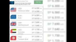 سعر الدينار الليبي مقابل العملات الأجنبية التطبيق مجاني علي متجر الاندرويد