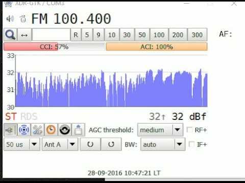 RNE 1 Radio Nacional - Spain - received via tropo - 28th Sept 2016