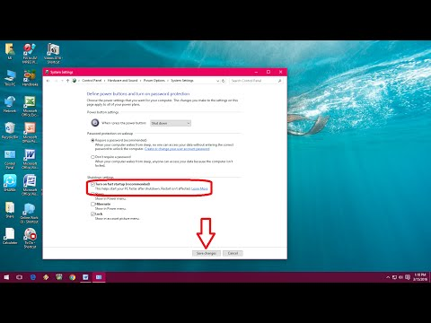 How To Make Windows PC Fast Shutdown And Startup (Windows 10/8.1/7)