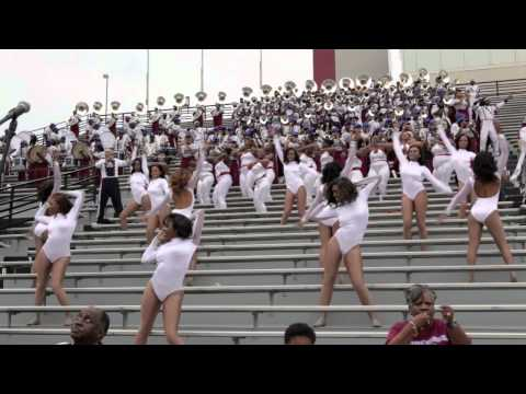 """SCSU MARCHING 101 """"PASS THE PEAS"""" CHAMPAGNE DANCERS"""