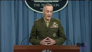 Dunford Updates Press on ISIS