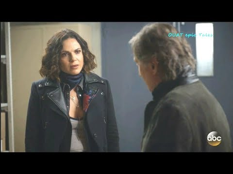 Once Upon A Time 7x18 Regina Angry at Rumple on his  stealing the Magic  Season 7 Episode 18 Scenes