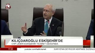 Kemal Kılıçdaroğlu Eskişehir Ticaret Odası ziyaretinde konuştu