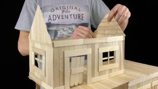 Membuat Rumah Dengan Stik Es Cream