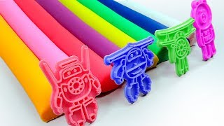 Colors With Play Doh Ice Cream Super Wings  Molds Fun & Creative For Kids