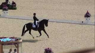 Charlotte Dujardin and Valegro - Olympic Gold Medallists Kur London 2012