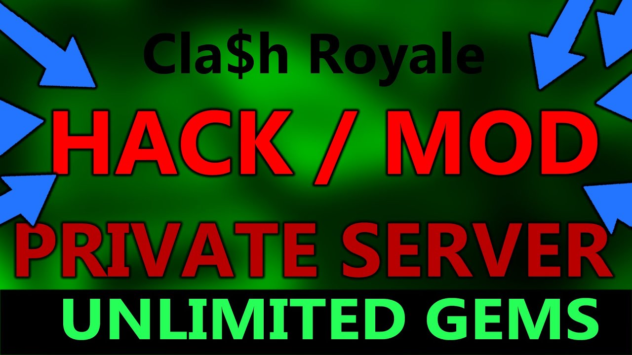 Clash Royale Private Server Hack/Mod apk 2016 No root