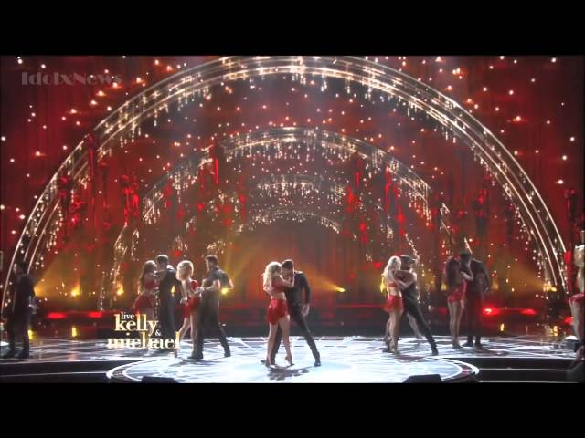 DWTS Pros ~ Kelly and Michael show ~ Oscar 2015