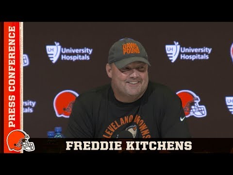 Freddie Kitchens On Preparation for Ravens